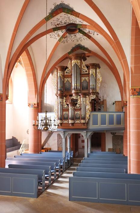 Die Armsheimer Stumm-Orgel von 1739